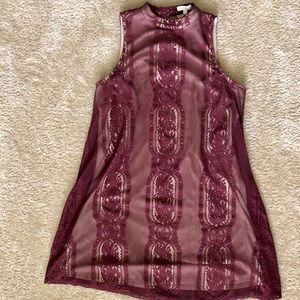 Beautiful lace tunic dress